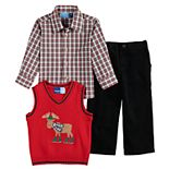 Toddler Boy Great Guy 3-Piece Sweater Set