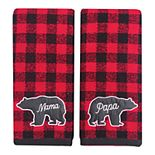 St. Nicholas Square® 2-pack Christmas Hand Towel Set