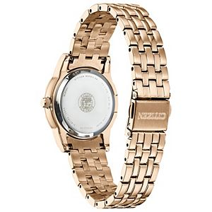 Citizen Eco-Drive Women's Silhouette Crystal Accent Stainless Steel Watch - EM0773-54D