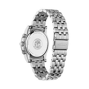 Citizen Eco-Drive Men's Stainless Steel Chronograph Watch - AT2450-58E