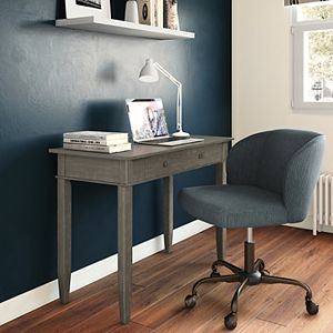 Simpli Home Carlton Contemporary Home Office Desk