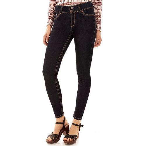 Juniors' WallFlower Luscious Curvy Insta Stretch™ Skinny Jeans
