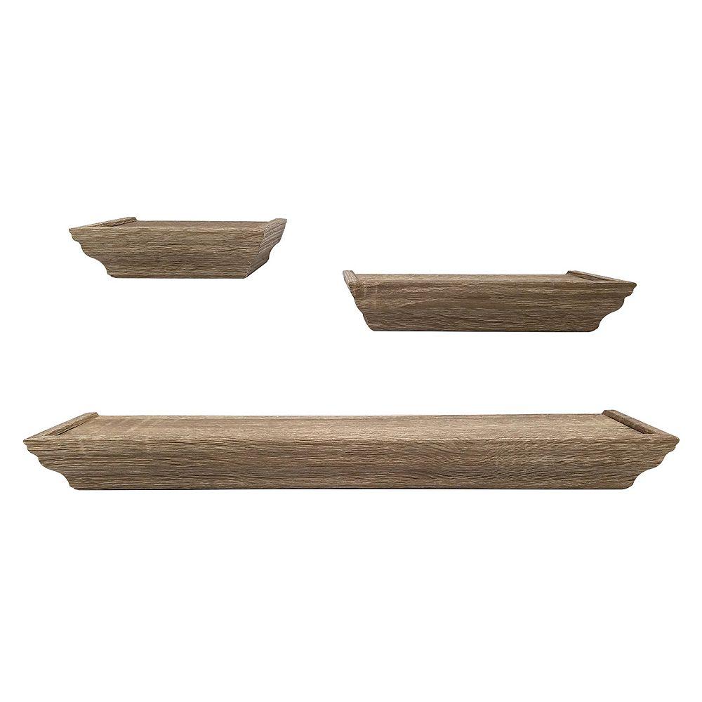 Harbortown Wall Shelf 3-piece Set