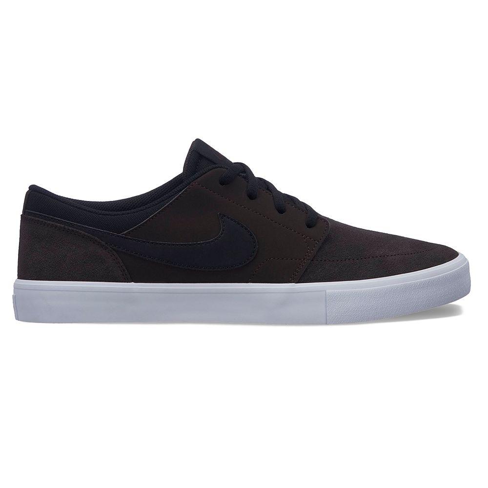 Nike SB Solarsoft Portmore II Men's Nubuck Skate Shoes