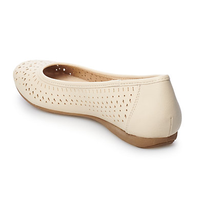 Croft & Barrow® Creativity Women's Perforated Flats