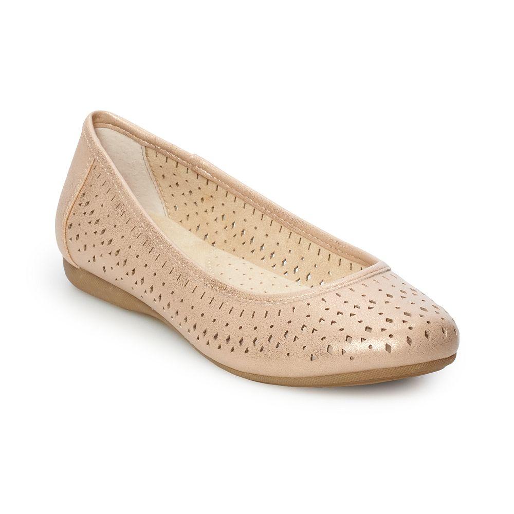 Croft & Barrow® Creativity Women's Ortholite Perforated Flats