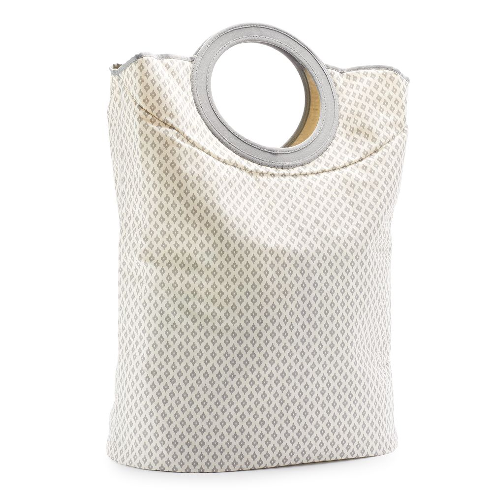 SONOMA Goods for Life® Gray Ikat Convertible Clothes Hamper