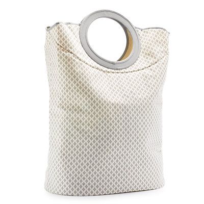 SONOMA Goods for Life? Gray Ikat Convertible Clothes Hamper