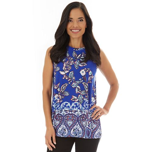 Women's Apt. 9® Allover Print Swing Tank