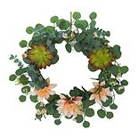 SONOMA Goods for Life® Artificial Mum & Eucalyptus Wreath
