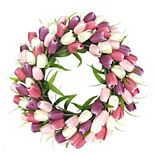 SONOMA Goods for Life® Pink Tulip Wreath
