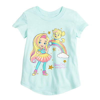 Toddler Girl Jumping Beans® Sunny Day Rainbow Graphic Tee