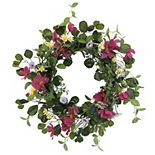 SONOMA Goods for Life® Artificial Cosmos Daisy Greenery Wreath