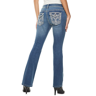 Women's Apt. 9® Embellished Midrise Bootcut Jeans
