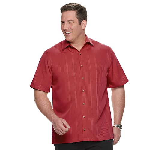 Big & Tall Van Heusen Air Classic-Fit Non-Iron Button-Down Shirt