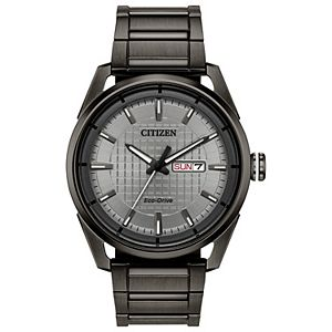 Drive From Citizen Eco-Drive Men's CTO Stainless Steel Watch - AW0087-58H
