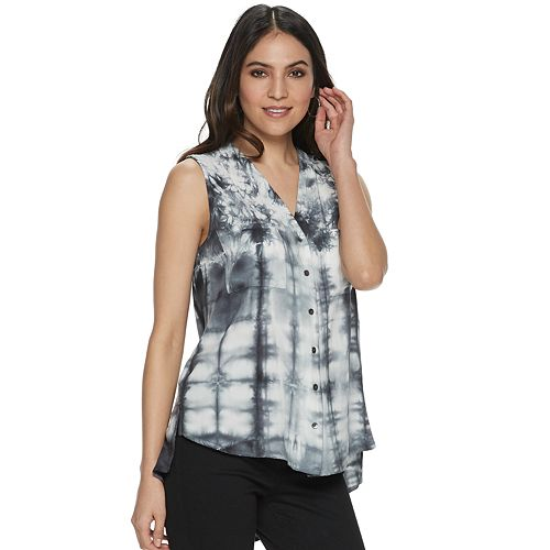Women's Rock & Republic® Tulip-Back Top