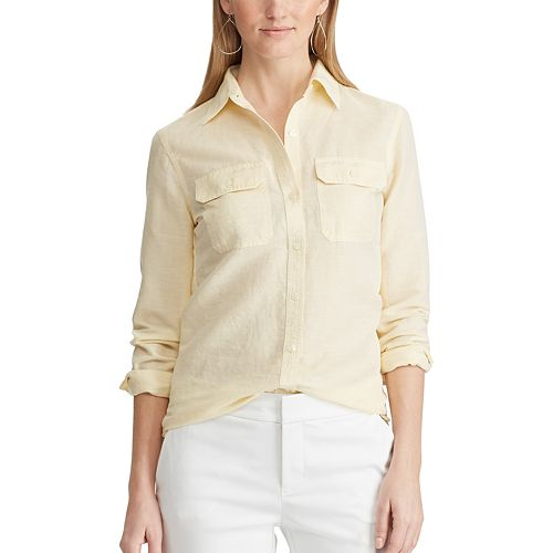 Women's Chaps Chambray Shirt