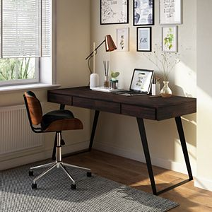 Simpli Home Lowry Modern Industrial Desk