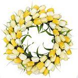 SONOMA Goods for Life? Yellow & White Tulip Wreath