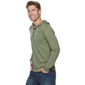 Men's SONOMA Goods for Life Pullover Hooded Henley