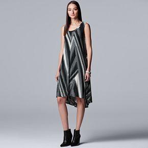 Women's SimplyY Vera Vera Wang Hi-low Tank Dress