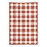 StyleHaven Maritime Gingham Check Rug