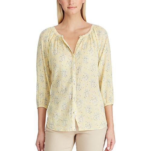 Women's Chaps Floral Shirt