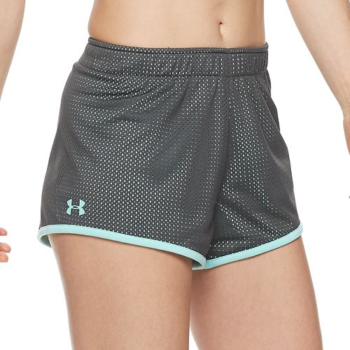hot-selling official fashionable and attractive package diversified in packaging Women's Under Armour Reversible Play Up Mesh Shorts