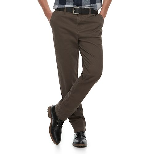 Men's SONOMA Goods for Life™ Slim-Fit Stretch Chino Pants