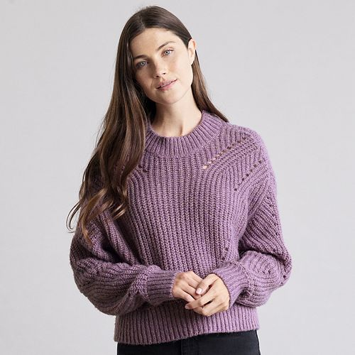 Women's Elizabeth and James Open Stitch Sweater