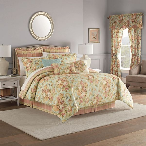 Waverly Spring Bling Comforter Set, Waverly Bedding Set Queen