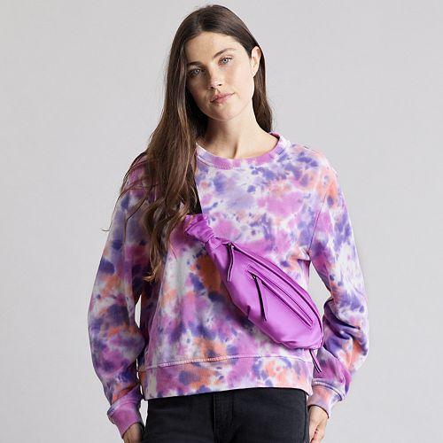 Women's Elizabeth and James Tie Dye Sweatshirt