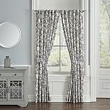 Waverly 2-pack Stencil Vine Window Curtains