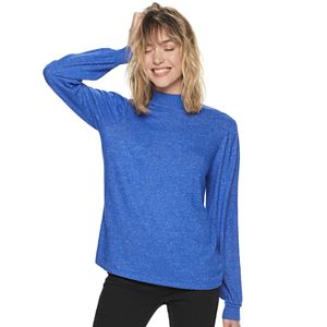 Women's POPSUGAR Cozy Mockneck Top