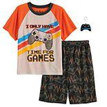 Boys 4-12 Up-Late Born To Play 2-Piece Pajama Set