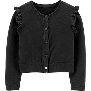 Toddler Girl Carter's Flutter Cardigan