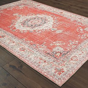 StyleHaven Season Faded Medallion Rug
