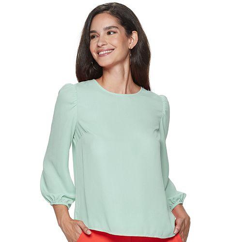 Women's Apt. 9® Puff Shoulder Top