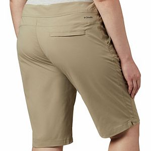 Plus Size Columbia Anytime Outdoor Water-Repellent Shorts