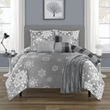 Snowflakes Comforter Set