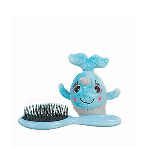 Wet Brush Narwhal Plush Hair Brush