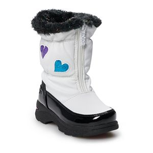totes Allison Toddler Girls' Waterproof Winter Boots