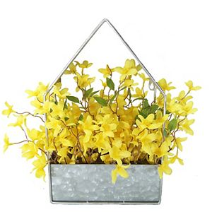 SONOMA Goods for Life Artificial Forsythia in Metal Wall Decor