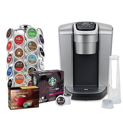 Keurig® K-Elite®Single-Serve K-Cup® Pod Coffee Maker with 36-Count Pod Carousel