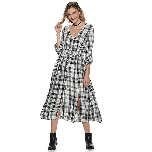 Juniors' American Rag Maxi Shirt Duster