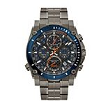 Bulova Men's Precisionist Chronograph Watch Gunmetal Ion-Plated Stainless Steel - 98B343