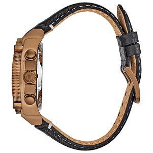 Bulova Men's Precisionist Chronograph Leather Watch - 97B188