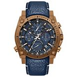 Bulova Men's Precisionist Chronograph Leather Watch - 97B186