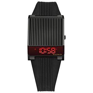 Bulova Men's Computron Black Digital Watch - 98C135
